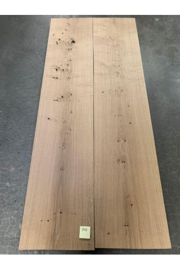 220x100 cm - 7110 Oak/untreated