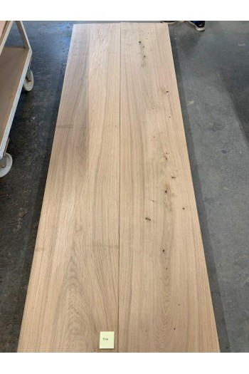 300x100 cm 7148A Oak/untreated, is drilled for legs